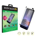 Body Glove 3D Curved Tempered Glass Screenguard For Samsung Galaxy S9 - Black
