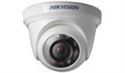 Hikvision DS-2CE56C0T-IRP HD720P Indoor 2.8MM Lens Ir Turret Camera Retail Box 1 Year Warranty Features• 1.0 Megapixel High-perf