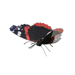 Metal Earth Red Admiral Butterfly