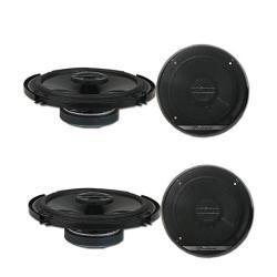 4 X Pioneer TS-G1620F 6.5-INCH 2-WAY Car Audio Coaxial Speakers 6-1 2