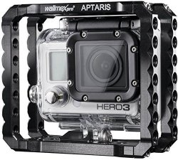 Walimex Pro 19739 Aptaris Light Weight Cage For Gopro Hero 2 3 3+ And 4 Black