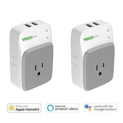 VOCOlinc PM3 Smart Plug Outlet Works With Apple Homekit & Amazon Alexa &  Google Assistant 2 USB Por | R | Hand Tools & Accessories | PriceCheck SA