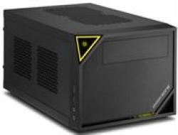 Sharkoon Shark Zone C10 Mini-itx Chassis - USB 3.0 Mounting Possibilities: 1X 5.25 Drive Bays 1X 3.5 Bay 1X 2.5 Ssds hdds Front