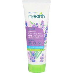 MyEarth Hand & Nail Cream Lavender & Lemongrass 75ML