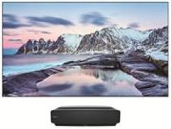 Hisense 80 Inch 4K Ultra High Definition Laser Hdr Vidaa Smart Tv- x Fusion Technology Dlp Front Projector And Screen Resolution 3840 × 2160