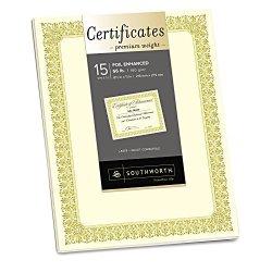 SOUCTP1V - Southworth Premium Certificates