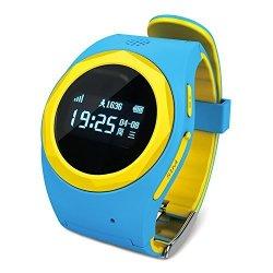 Ameter G1 Gps Tracker Anti-lost Sos Kids Smartwatch - Blue
