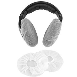 TVP Headphone Ear Cover Disposable Super Stretch Covers Germproof Deodorizing And Washable For Most On Ear Headphones With 5 8CM