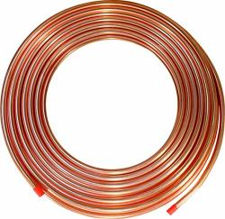 """Ics Industries - 3 8"""" Od Copper Refrigeration Acr Tubing 50 Ft"""