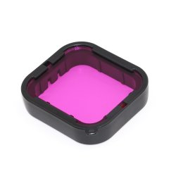 Action Mounts Magenta Underwater Lens Filter For Gopro Hero 5