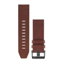Garmin QuickFit 22mm Brown Leather Band