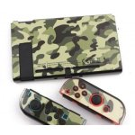 NS Switch Protective Cover Case Green Camo