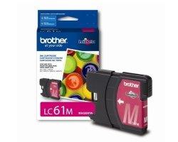 Brother LC61-M - Magenta - Original - Ink Cartridge - For Dcp 295 J125 J140 Justio MFC-5890 Mfc 58XX J220 J265 J270 J410 J415