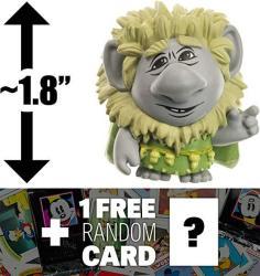"Pabbie Troll: 1.8"" Funko Mystery Minis X Disney Frozen MINI Vinyl Figure Series + 1 Free Classic Disney Trading Card Bundle Very Rare"