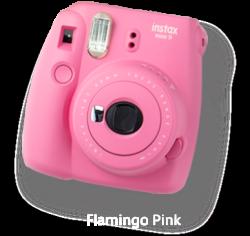Fujifilm MINI 9 Instant Camera Flamingo Pink