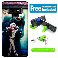 Limited Editions For Galaxy Note 9 Hybrid Rugged Hard Cover Case - Harley Quinn Real Whysoserious