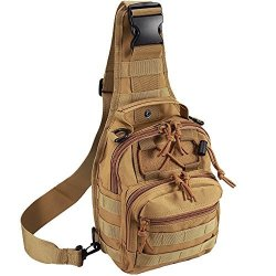 2823e5598965 TACTICAL Shoulder Bag 1000D Outdoor Military Molle Sling Backpack Sport  Chest Pack Daypack Bags Camping Hiking Trekking Rover Sl | R562.00 |  Hunting ...