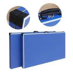 SPINSPORT - 4 Piece Foldable Table Tennis Table