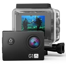G1 4K 16 Million Pixel Sports Camera With Waterproof Case Wifi Remote Control Dv Camera 2.0 Inch 170 A+ Wide Angle