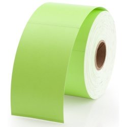 LabelValue.com Dymo 30374G Compatible Green Appointment Cards 2 X 3-1 2 - 300 Cards Per Roll