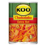 Koo - Canned Chakalaka Extra Hot 410G