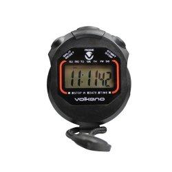 Volkano Timed Series Stopwatch - Black
