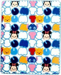 USA Disney Tsum Tsum Super Soft Travel Blanket 40 In X 50 In Pastels