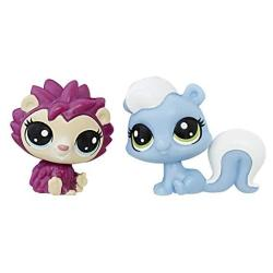 Littlest Pet Shop Hildy Hedgehog & Alina Skunkerby MINI Pet Pair
