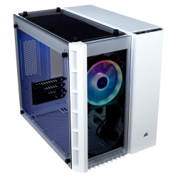 Corsair Crystal Series 280X Rgb Tempered Glass Micro Atx PC Case White