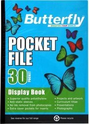 Butterfly Pocket File 30 Page