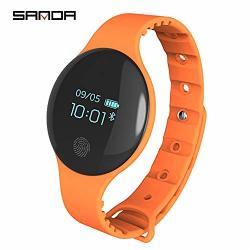 Fenkoo Sanda Smart Bracelet Watch Fashion Sports Step Simple Couple Table Color : 2