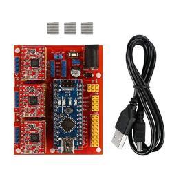 SainSmart Arduino Cnc Kit Cnc Shield V4 + Nano V3 0 + 3 XA4988 Reprap  Stepper Drivers Kit For 3D Printing | R1197 00 | Office Supplies |  PriceCheck SA