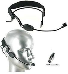 Av-jefe CM518 Pro Noise Cancelling Headset Microphone _ W MINI 3 Pin Connector For Akg Wireless Systems
