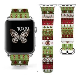Apple Watch Watch 2 Band 42MM Decal Band Replacement Band Genuine Leather Iwatch iwatch 2 Stra