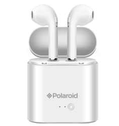 Polaroid Bluetooth True Wireless Series Stereo Earbuds With Charging Dock