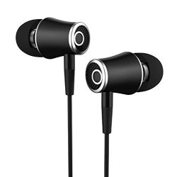 Accessonico Earbuds Compatible Samsung Galaxy S9 Compatible Samsung Galaxy S8 Active Earphones Extra Bass Headphones Microphone