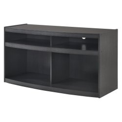 FURNITURE - Memphis Black Plasma Stand