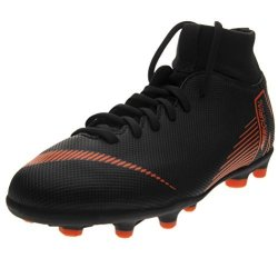 Nike Junior Superfly 6 Club Mg Football Boots AH7339 Soccer Cleats 4 M Us Black