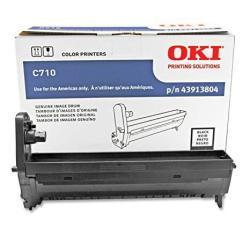 Oki 43913804 Black Image Drum For C710 Series Printers