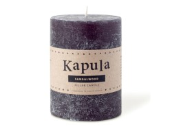 Sandalwood Frosted Pillar Candle 420ML