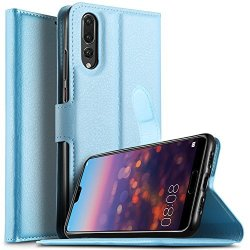 newest b1e5d 82db8 KUGI Huawei P20 Pro Case Huawei P20 Pro Case Premium Pu Leather Wallet Case  Card Holder Drop Proof Flip Folio Protective Phone C | R575.00 | Cellphone  ...