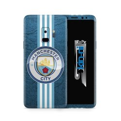 Samsung Galaxy S9 Decal Skin: Manchester City