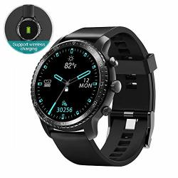 SMART WATCH Tinwoo For Android Ios Phones Bluetooth Health Tracker With Heart Rate Monitor Gps Digital Smartwatch For Women Men Support Wireless Charging