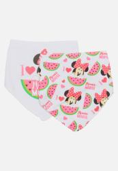 Character Baby Minnie Mouse 2 Pack Bandana Bibs Multi-colour