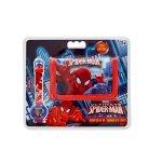 Disney Spiderman Watch And Wallet Set