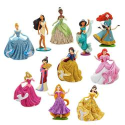 """Disney Princess Deluxe Figure Play Set - """"happily Ever AFTER""""461078613750"""
