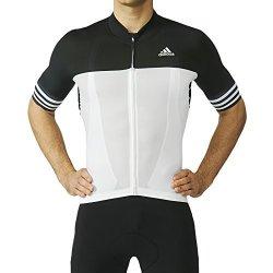 d3cbb14ed Adidas Performance Mens Adistar Cycling Jersey - White - XS