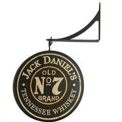 "Jack Daniels 12"" Double Sided Pub Sign"