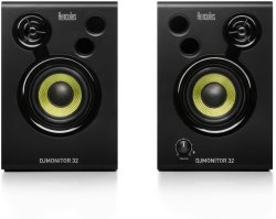 Hercules Djmonitor 32 30 Watt 3 Inch Active Dj Studio Monitors Pair