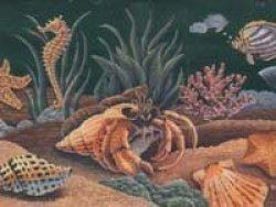 Wallcrown Ltd. Aquarium Wallpaper Border B970927RB